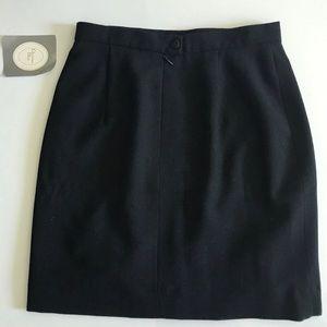 Christian Dior Wool Pencil Skirt